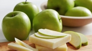 granny smith apples with cheese huffington post