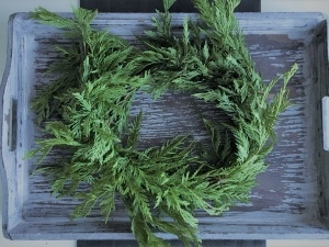 Trader Joes garland wreath