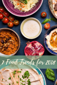 7 food trends for 2018