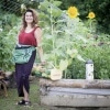 Fall Garden To Do's Roo apron